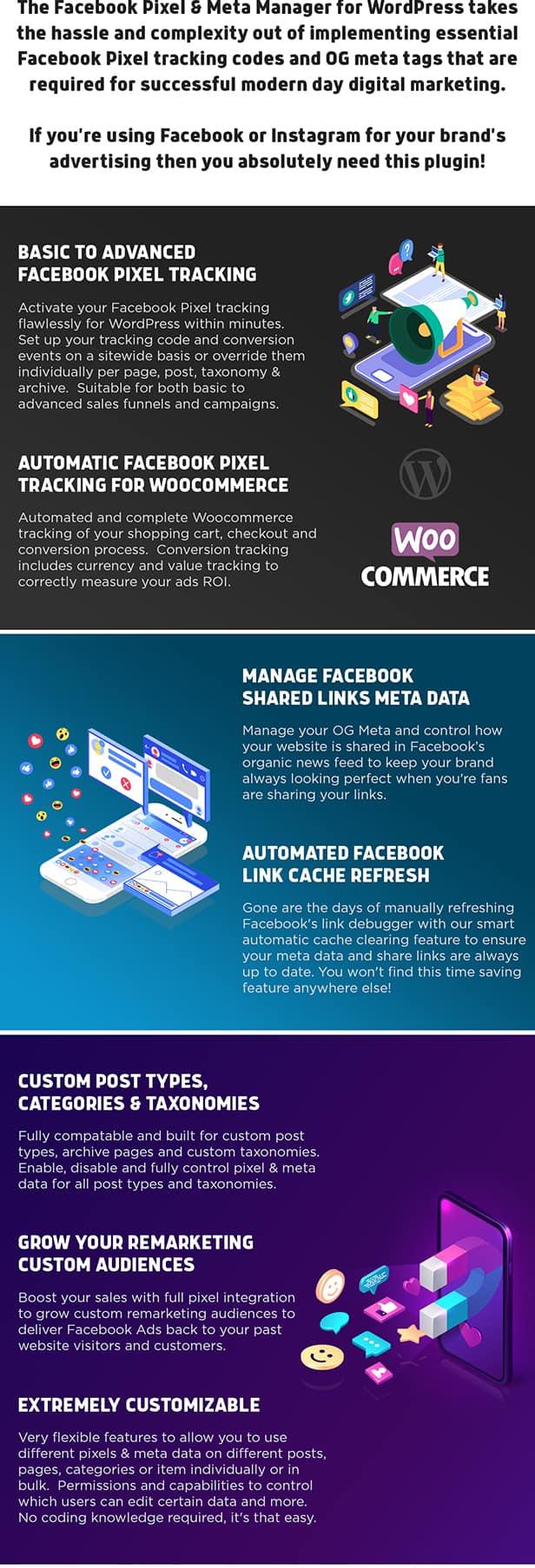 Facebook Pixel & Meta Tag Manager for WordPress - 1